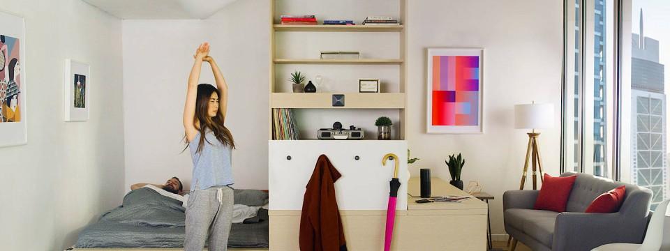 Exceptional Einfache Dekoration Und Mobel Natuerlich Wohnen Mit Wachsenden Moebeln #9: Autonome Möbel Machen Mikroapartments Wohnlicher