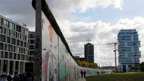 Berliner Mauer bleibt Touristenmagnet