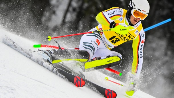 Platz 18 wurmt Slalom-Fahrer Straßer nicht