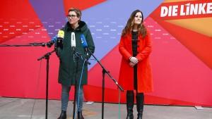 Die Linke bekommt eine weibliche Doppelspitze
