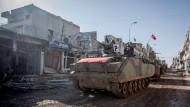 Türkei holt Soldaten von Syrien zurück