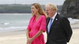 Britischer Premier Boris Johnson wird abermals Vater