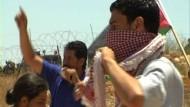 """Protest gegen die """"Mauer der Schande"""""""