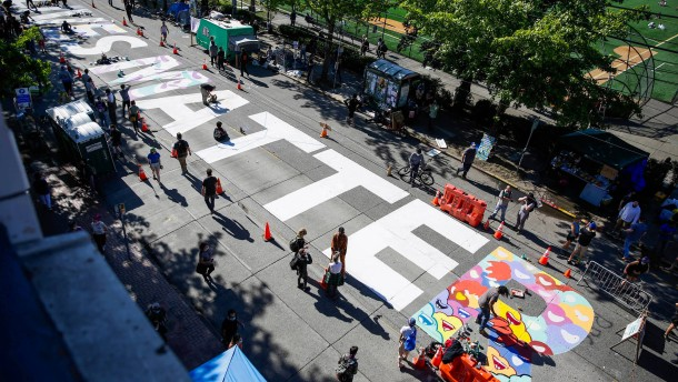 Aktivisten besetzen Capitol Hill