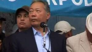Medien: Bakijew nach Kasachstan geflohen