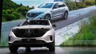 Der neue Mercedes-Benz GLC EQC mit Elektroantrieb