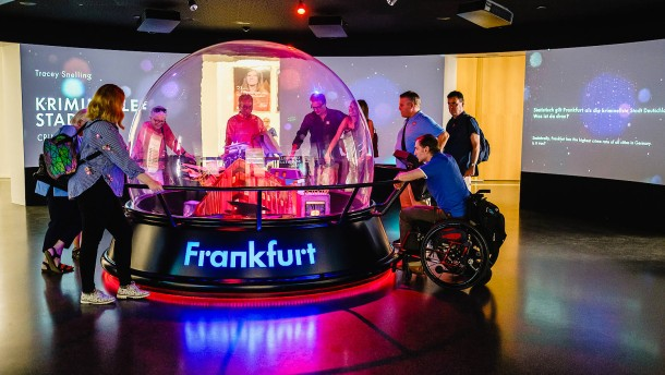 Wie attraktiv ist Frankfurt für Touristen mit Handicap?