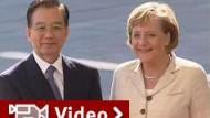 Merkel mahnt Menschenrechte an