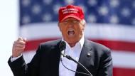 Berüchtigt für seine kontroversen Aussagen: Präsidentschaftskandidat der Republikaner Donald Trump.