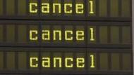 Warnstreiks auf Berliner Flughäfen