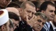 """Verwendet in Reden oft mehr Zeit auf die Gefahr durch Fethullah Gülen als durch den """"Islamischen Staat"""": Recep Tayyip Erdogan"""