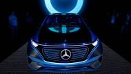 Mercedes-Benz zeigt auf dem Pariser Autosalon die Studie EQ, daraus wird eine eigene Marke.