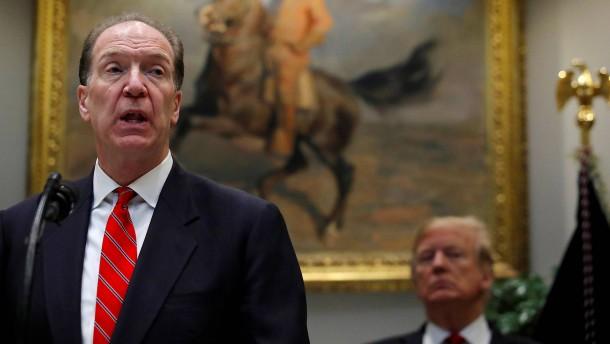 Trump-Kandidat Malpass wird wohl neuer Weltbank-Präsident