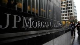 JP Morgan macht 2020 so viel Gewinn wie noch nie im vierten Quartal