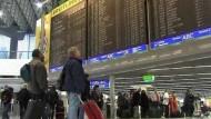 Kaum Verzögerungen im Flugverkehr