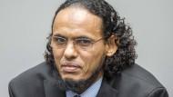 Gefängnis für malischen Kulturschänder: Ahmad Al Faqi Al Mahdi vor dem internationalen Gerichtshof.