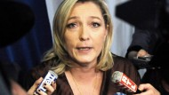 Marine Le Pen im Umfragehoch