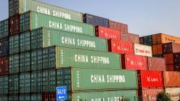 Deutsche Konzerne machen mehr Geschäft in Amerika und China