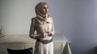 """""""Man kann nicht bereuen, wozu man gezwungen war"""": Doaa Al Zamel vergangene Woche in Berlin."""
