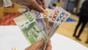 Land ohne Bargeld