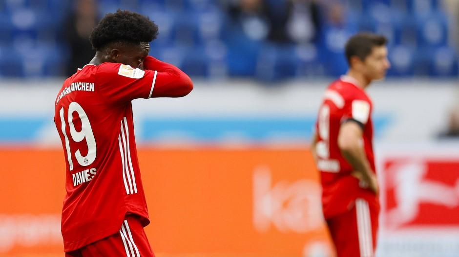 Eindeutige Niederlage gegen Hoffenheim: Die Bayern zeigen sich verwundbar