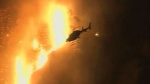 Kampf gegen Waldbrände in Kalifornien