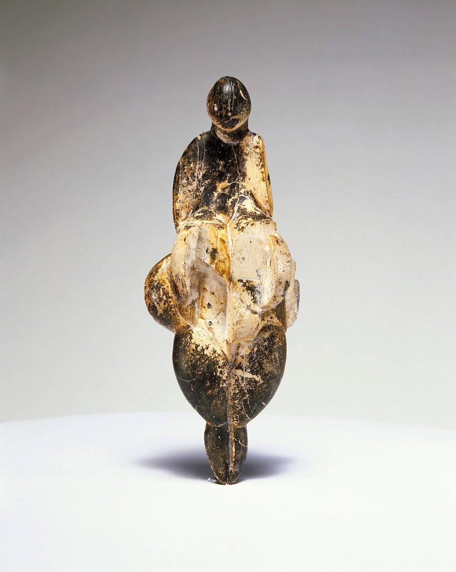 Grande Dame der Altsteinzeit und Inspiration Pablo Picassos: Die Venus von Lespugue ist etwa 23.000 Jahre alt und wurde 1922 am Fuße der Pyrenäen entdeckt.