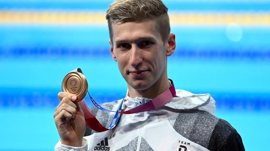 Hat noch eine Chance auf Gold: Florian Wellbrock