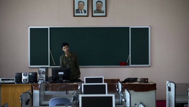 Pjöngjang auf digitalem Raubzug