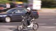 """Das """"Erockit"""" will Motorrad und Fahrrad sein"""