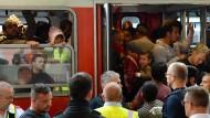 Kaum Flüchtlinge in Freilassing