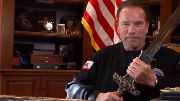 """Schwarzenegger: Trump ist """"schlechtester Präsident aller Zeiten"""""""