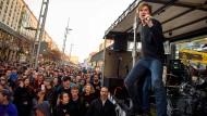 Die Toten Hosen sorgen bei Anti-Pegida-Demo für Überraschung