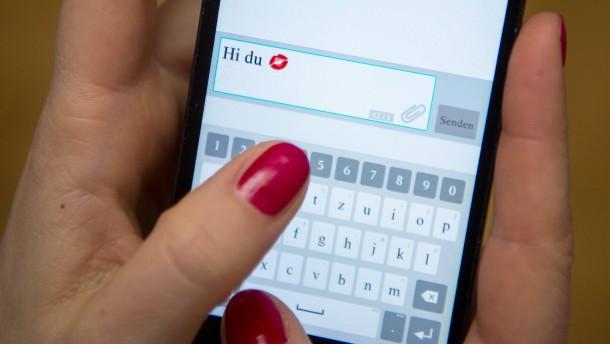 Im Zweifel eine Whatsapp-Nachricht als Liebesbrief