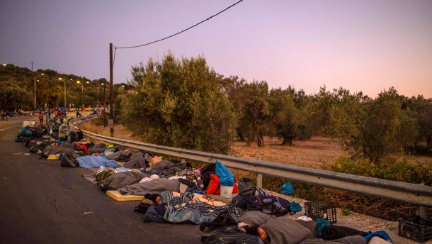 Wie geht es weiter für die Migranten auf Lesbos?