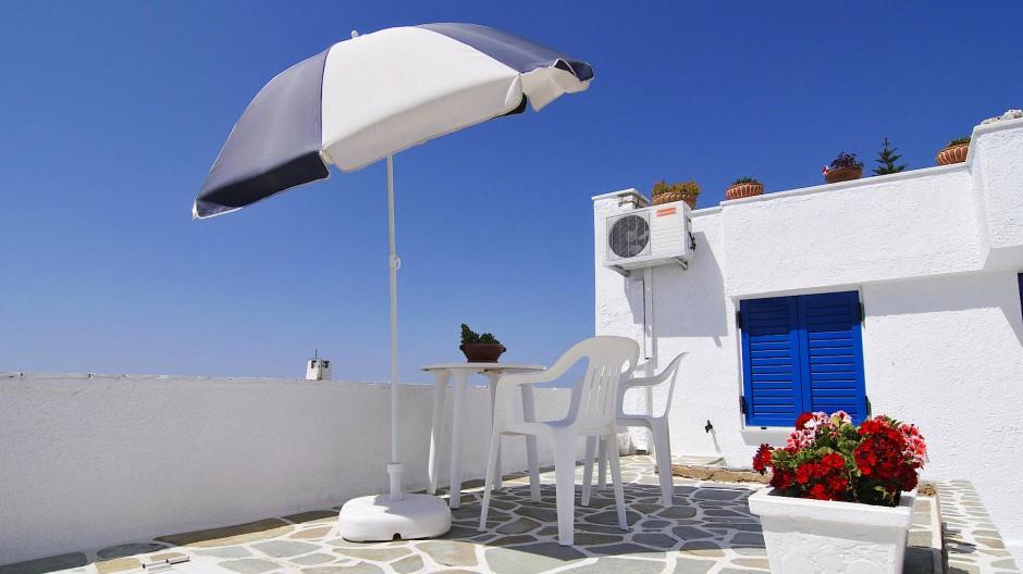 Ab ins Verzeichnis: Ferienwohnung in Naoussa im Norden der griechischen Insel Paros