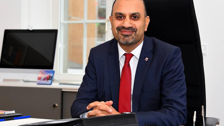 Lobt die Sicherheit und Möglichkeiten in Deutschland: Präsident der Justus-Liebig-Universität Joybrato Mukherjee.