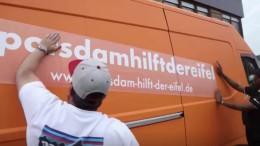 Eifel-Fan aus Potsdam organisiert Bautrockner