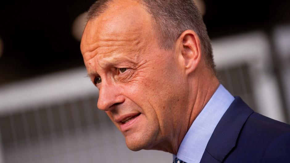 Positioniert sich im Wettbewerb um den CDU-Vorsitz: Friedrich Merz.