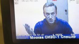 Nawalnyj bleibt weiter in Haft