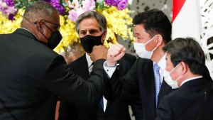 Amerika und Japan verschärfen Tonfall gegenüber China