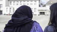 Muslimische Schülerin am Städtischen Gymnasium in Wuppertal-Vohwinkel