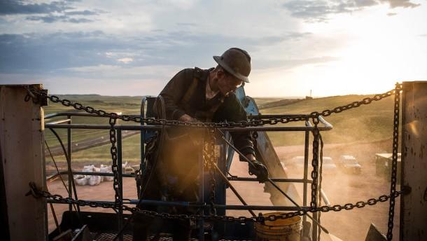Die Amerikaner fracken, was der Schiefer hergibt