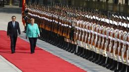 Merkel stellt sich hinter Demokratiebewegung