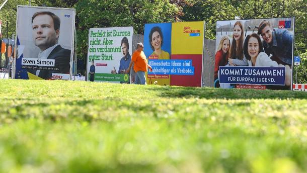 Sieben deutsche EU-Abgeordnete kommen aus Hessen