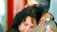 Trauer um die Opfer des Madrider Flugzeugunglücks