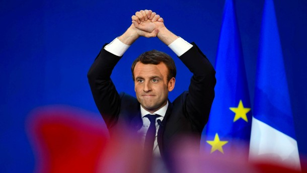 In Frankreich beginnt das Duell der Gegensätze