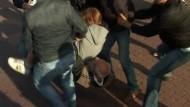 Klatschverbot in Minsk