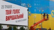 Spitzenkandidaten für die ukrainische Präsidentenwahl