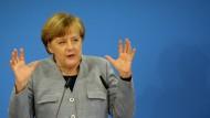Merkel will keine Neuwahlen